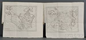 Diderot Denis 17131784 Complete Set of Ten Maps from the Encyclopedie