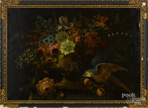 Old Masters style oil on canvas still life