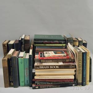 Large Collection of Books on American and European Antique Furniture and Decorative Arts