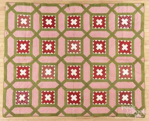 Pennsylvania Chimney Sweep patchwork quilt