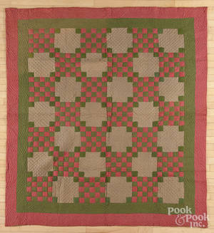 New Jersey twentyfive patch quilt