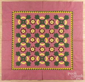 Pennsylvania floral appliqu quilt