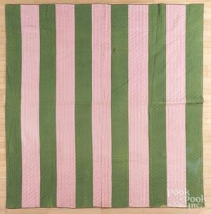Patchwork bar quilt