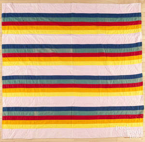 Pennsylvania Mennonite bar quilt