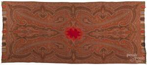 Two Kashmir paisley shawls
