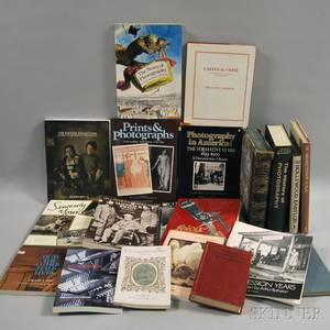 Collection of Reference Books Pertaining to Photography