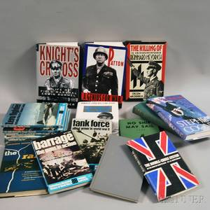 Collection of Reference Books Pertaining to WWII Military and Naval History