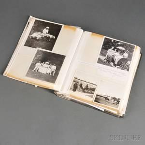 Album Containing Photographs and Ephemera Relating to the Romanov Family and Faberg
