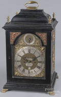 William Murray Gosport musical bracket clock with a double fusee movement