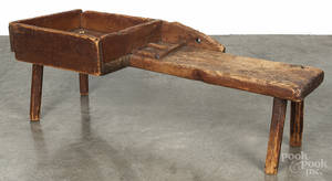 New England cobblers bench