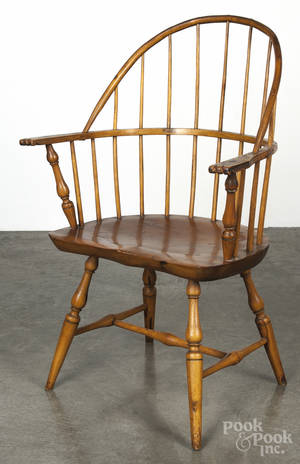 Pennsylvania sackback Windsor armchair