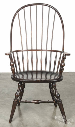 Wallace Nutting bowback Windsor armchair