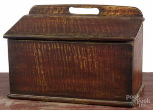 Pennsylvania painted pine box