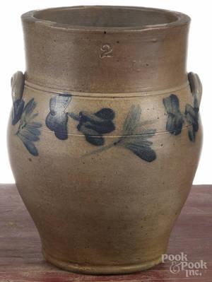 MidAtlantic twogallon stoneware crock