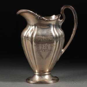 Graff Washbourne  Dunn Sterling Silver Water Pitcher