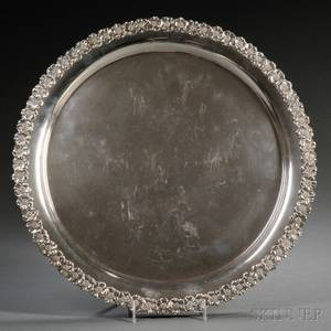 Unger Brothers Sterling Silver Tray