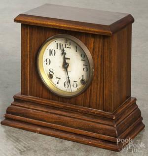 Three mantel clocks