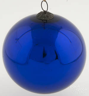 Large German Kugel Christmas ornament