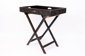 Continental Oak Butlers Tray Table