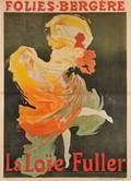 Jules Chret French 18361932 FoliesBergreLa Loe Fuller