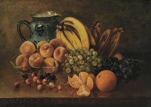 Abbie Luella Zuill American 18561921 Still Life with Bananas and Plantains