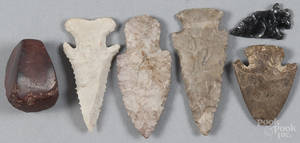 Native American points