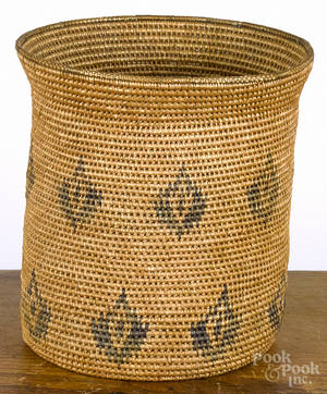Native American Indian basket 20th c