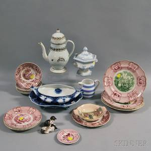 Group of Mostly English Ceramic Decorative Items