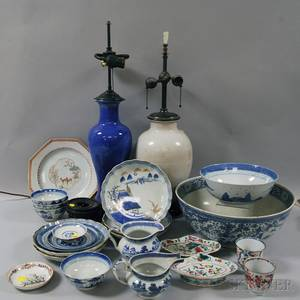Group of Canton and Chinese Export Porcelain