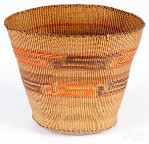 Tlingit basketry bowl ca 1900