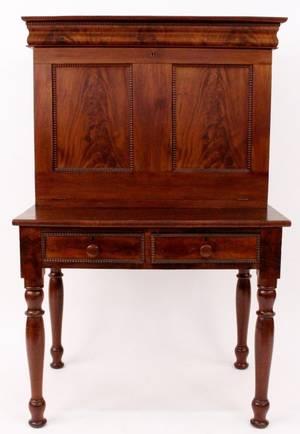 American Mahogany Plantation Desk