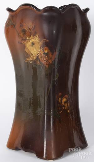 Art pottery umbrella stand