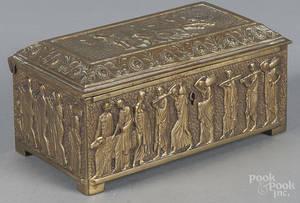 Brass dresser box