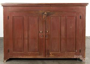 Painted pine cupboard top