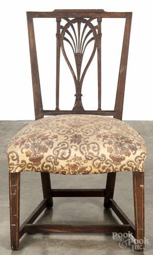 Philadelphia racket back side chair