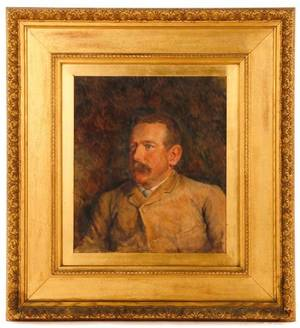 1885 Portrait of a New York Gentleman G Protzman