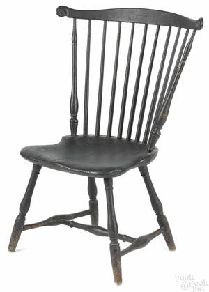 Pennsylvania painted fanback Windsor chair ca 1780