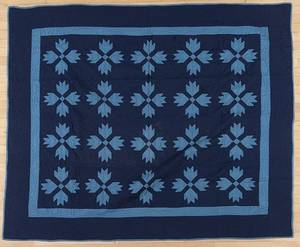 Pennsylvania Mennonite patchwork quilt ca 1900