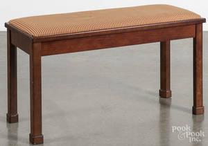Bombay Company mahogany piano bench