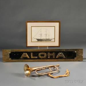Three New York Yacht Club Flagship Aloha related Items