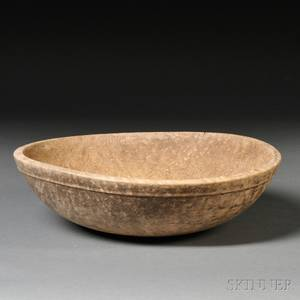 Turned Birdseye Maple Bowl