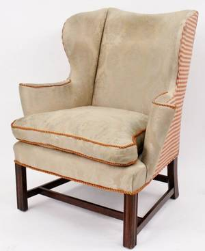 George III Wing Back Armchair