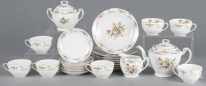 Noritake porcelain tea service