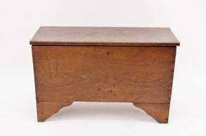 19th C Oak Blanket Chest