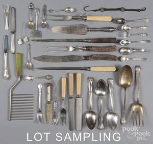 Miscellaneous sterling silver flatware