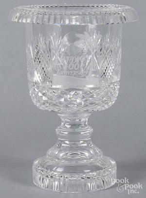 Waterford crystal presentation vase