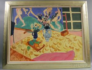 After Henri Matisse French 18691954 Still Life with Dance