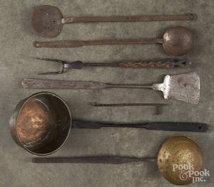 Long handled utensils