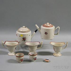Assorted Chinese Export Porcelain Tea Service