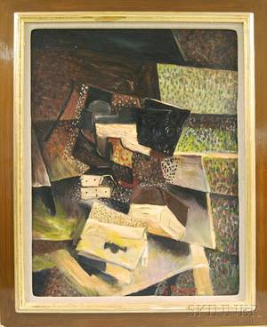 After Georges Braque French 18821963 Abstract